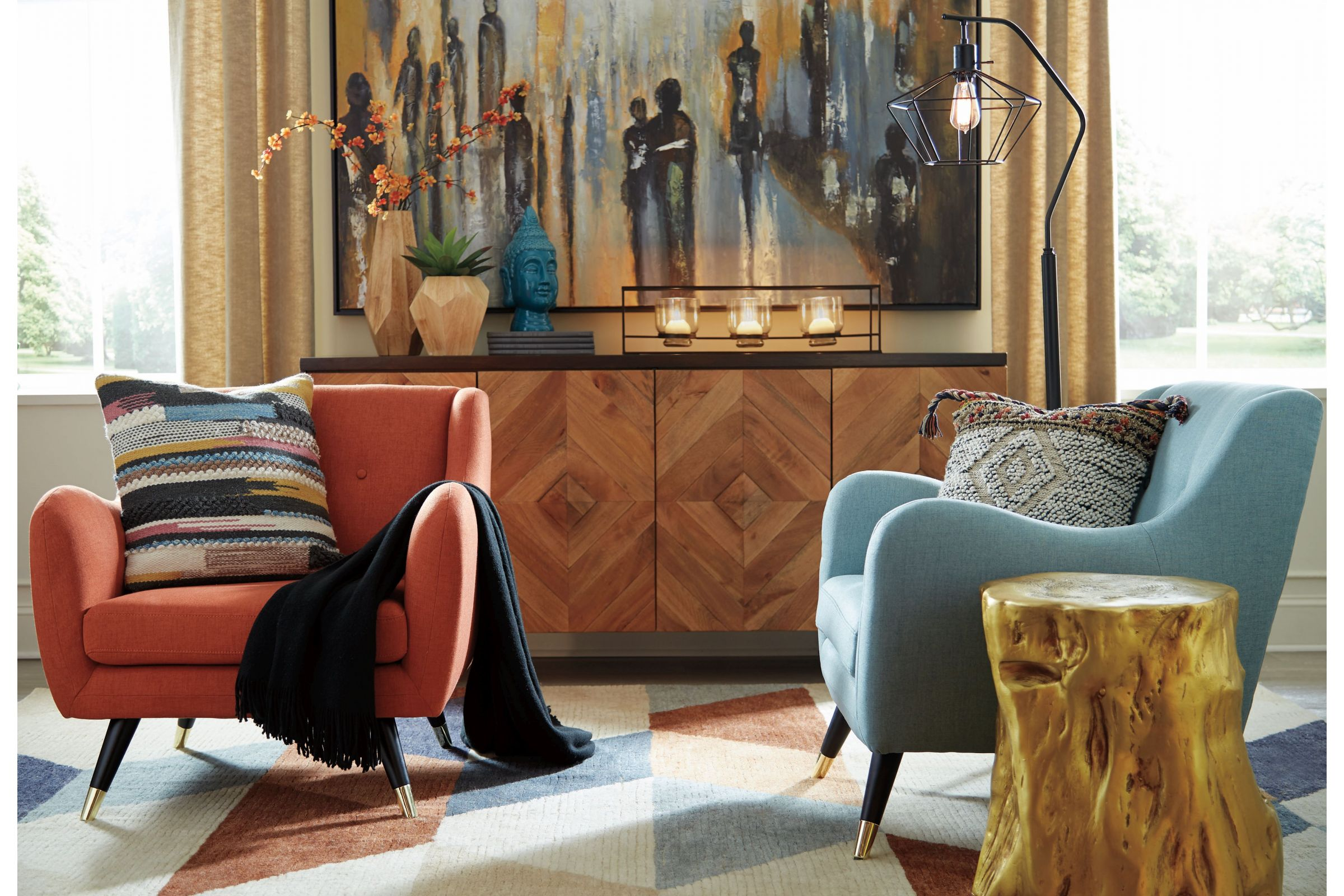 Mid Century Modern Home Decor Collection