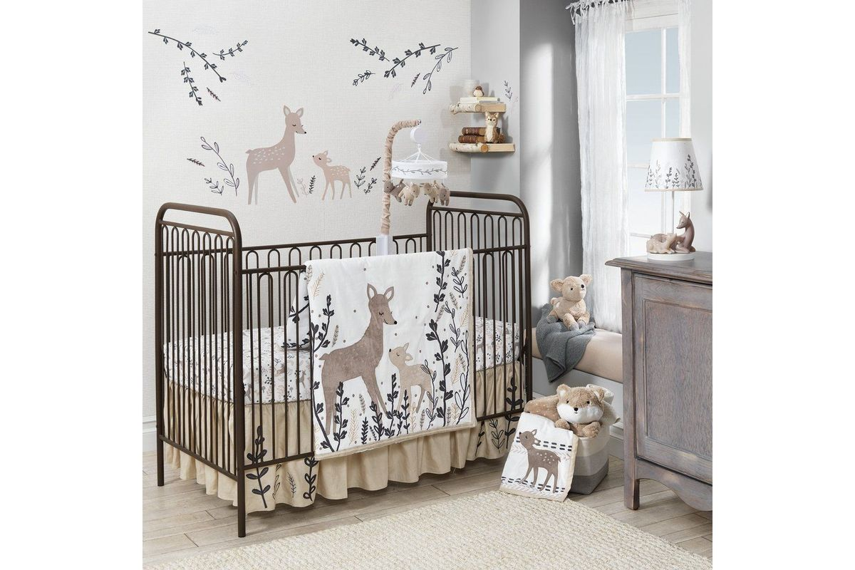 Meadow Crib Bedding by Lambs & Ivy from Gardner-White Furniture