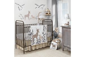 Meadow Crib Bedding by Lambs & Ivy