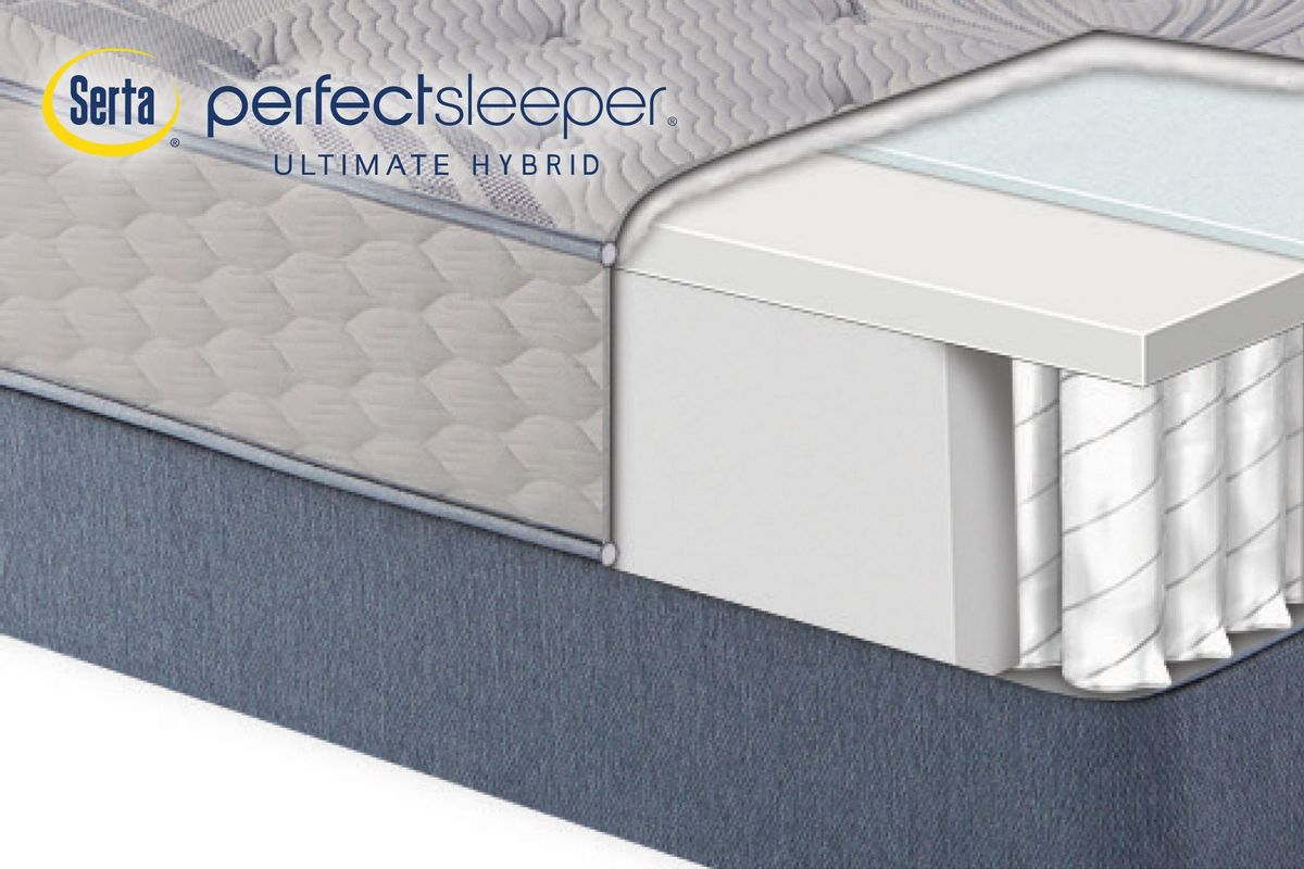Serta Perfect Sleeper® Ultimate Hybrid Nestoria Firm