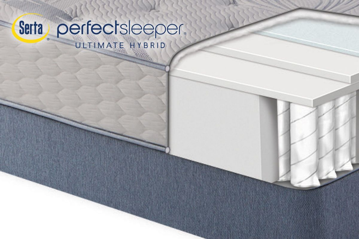 Serta Perfect Sleeper® Ultimate Hybrid Nestoria Plush