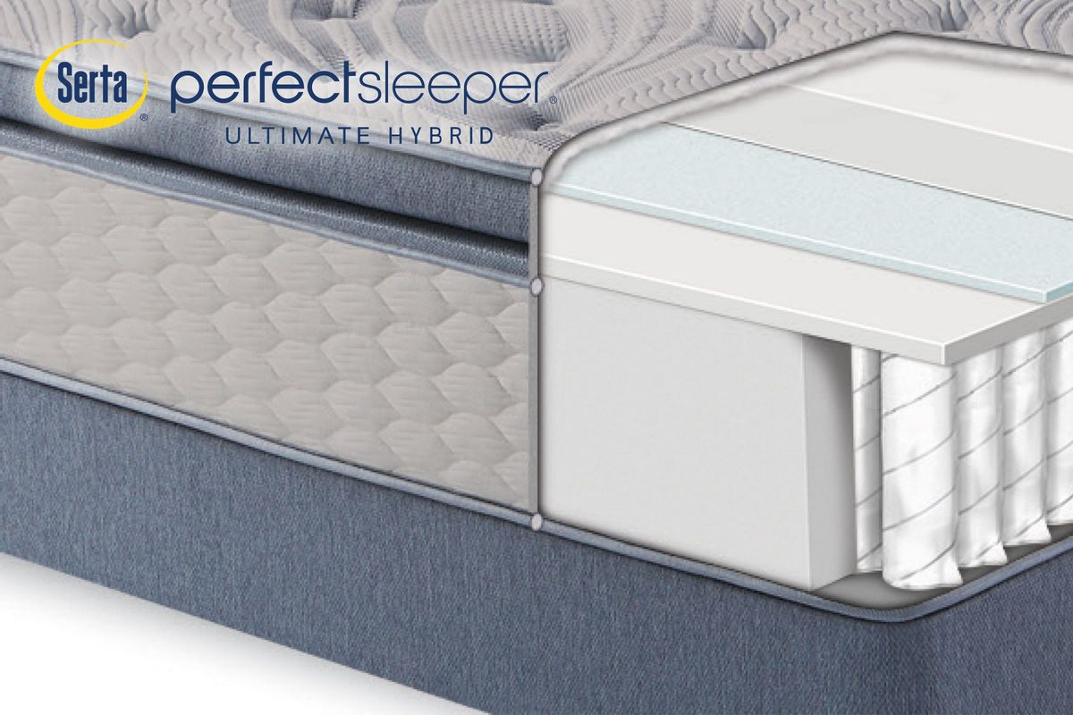 Serta Perfect Sleeper® Ultimate Hybrid Dorwood from Gardner-White Furniture