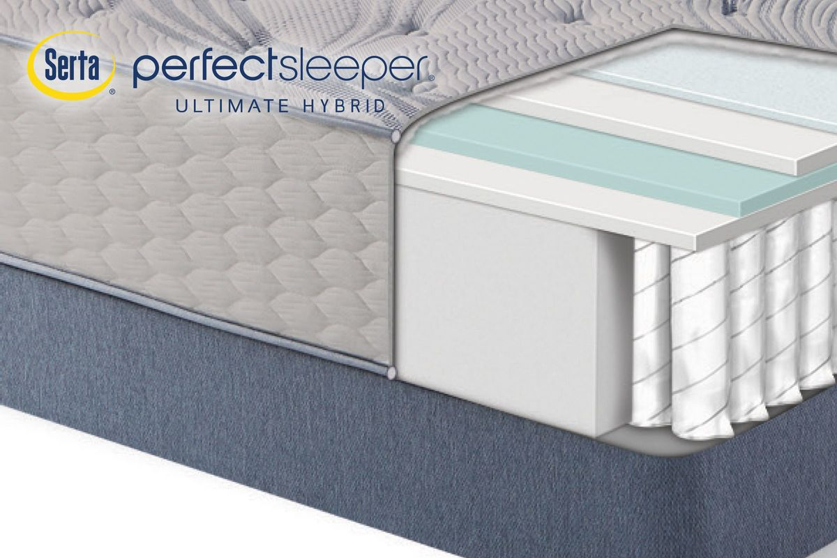 Serta® Perfect Sleeper® Ultimate Hybrid Lambden from Gardner-White Furniture