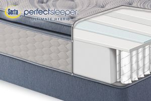 Serta Perfect Sleeper® Ultimate Hybrid Canyon Falls Plush Ultra Pillow Top