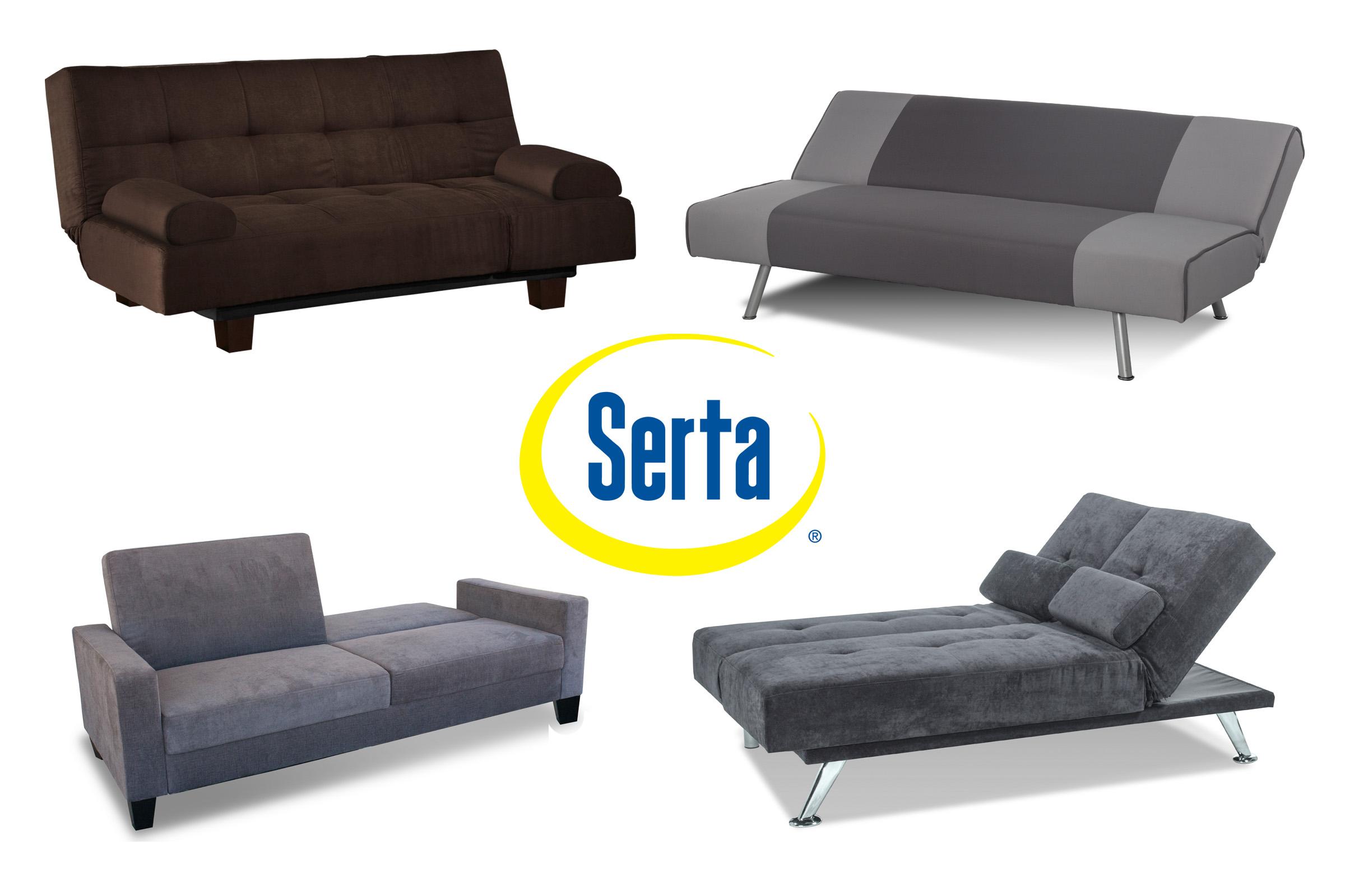 Astonishing Serta Dream Convertible Klik Klak Futons Collection Bralicious Painted Fabric Chair Ideas Braliciousco