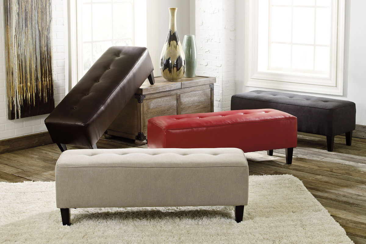 Sinko Ottomans By Ashley 174 Collection