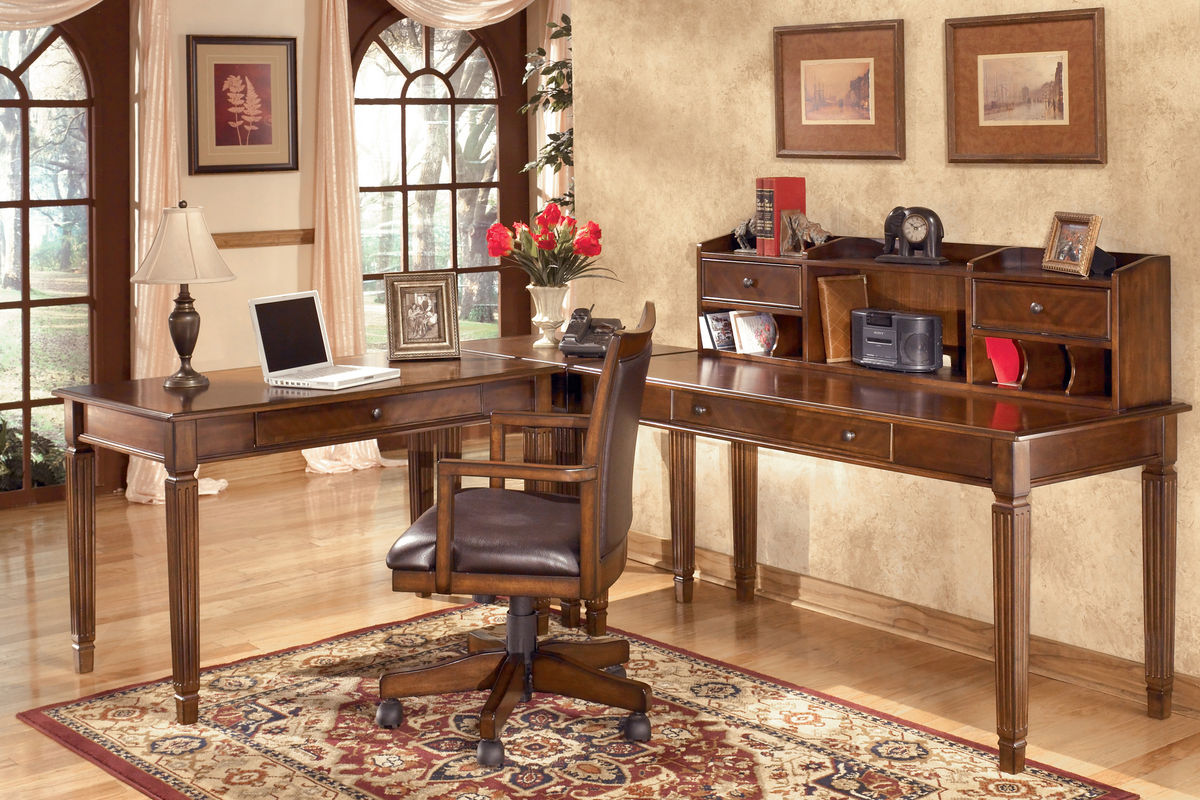 incredible white office desk furniture   Ashley® Home Office Collection