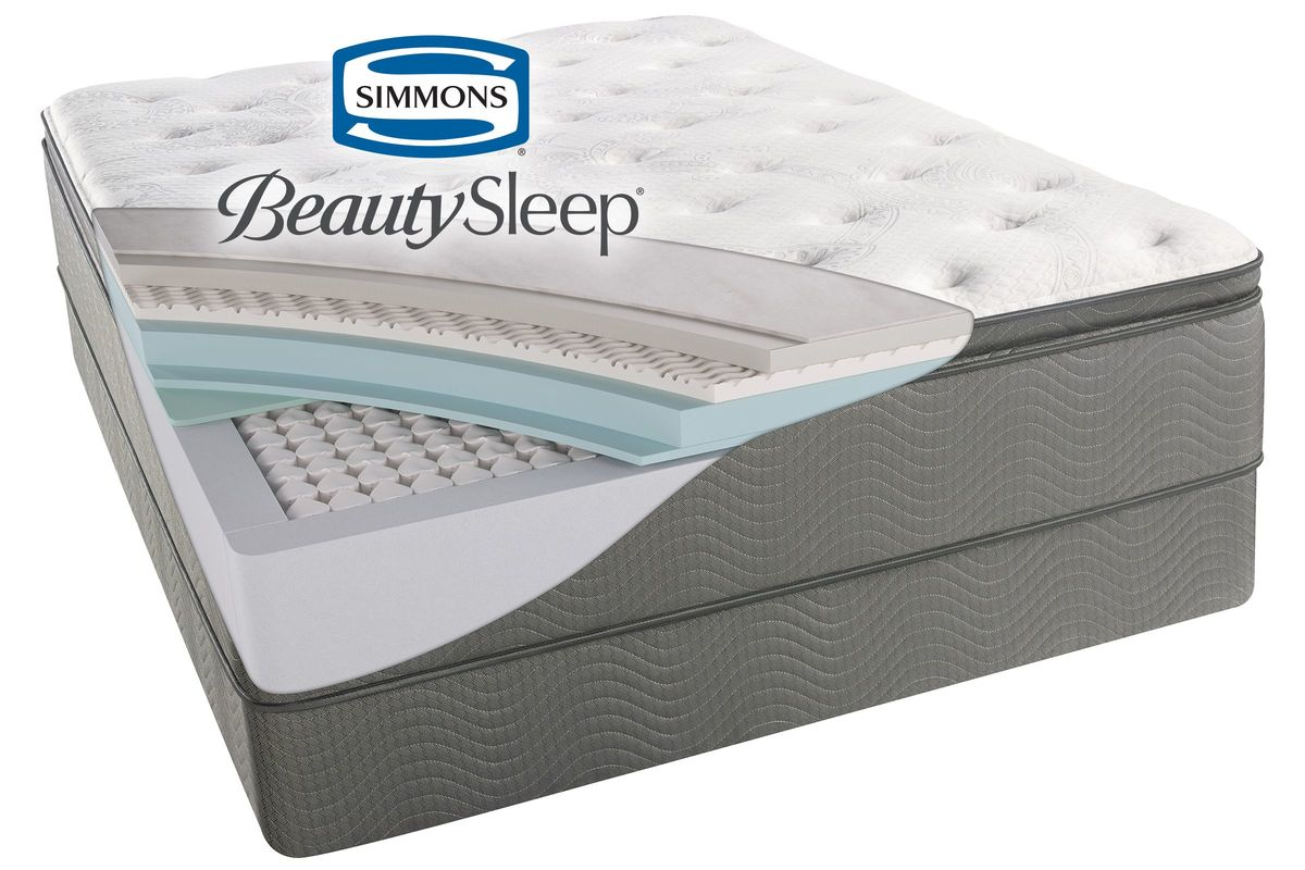 Simmons® Beautysleep® Sun Valley™ Plush Pillow Top from Gardner-White Furniture