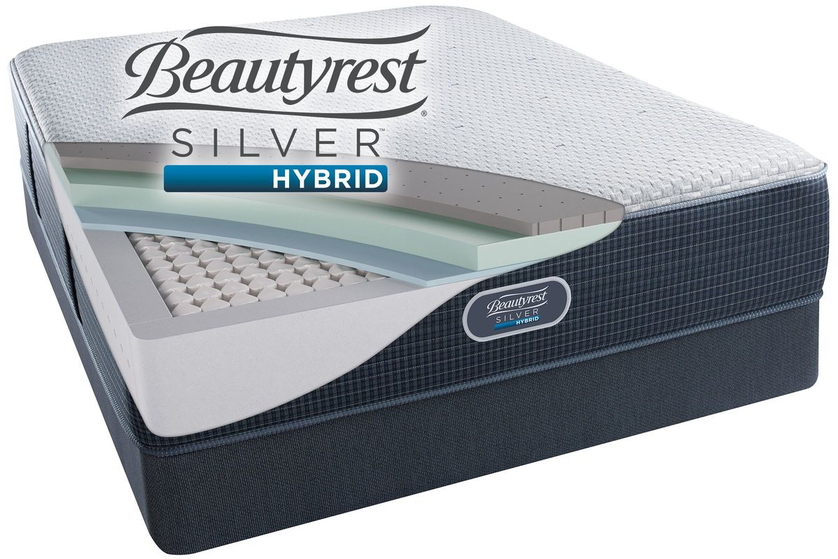 Beautyrest® Silver™ Hybrid Austin Reef™ Plush from Gardner-White Furniture